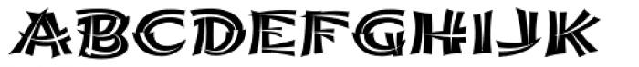Shojumaru Pro Split Font LOWERCASE