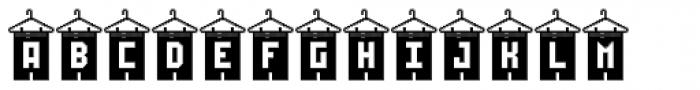 Shorts On Hangers Regular Font UPPERCASE