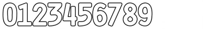 Shourtcut Outline Font OTHER CHARS