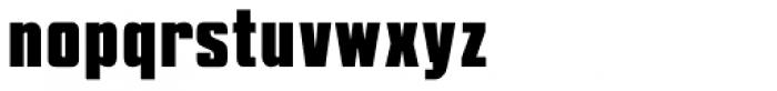 Shout Font LOWERCASE