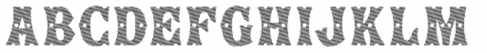 Show Lines Diagonal Font LOWERCASE