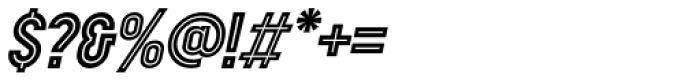 Showbiz Italic Font OTHER CHARS