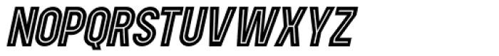 Showbiz Italic Font UPPERCASE