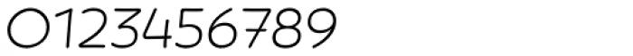Showcase Sans Italic Font OTHER CHARS