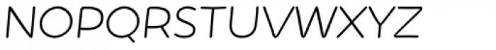 Showcase Sans Italic Font UPPERCASE