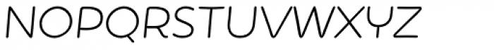 Showcase Sans Italic Font LOWERCASE