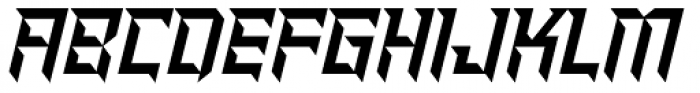 Shred Font UPPERCASE
