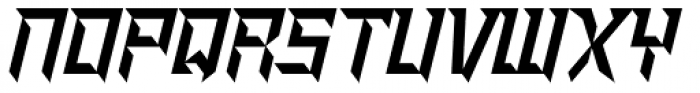 Shred Font LOWERCASE
