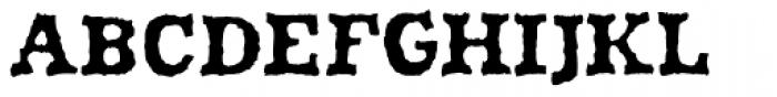 Shrub Bold Font UPPERCASE