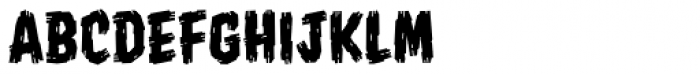Shrunken Head BB Font UPPERCASE