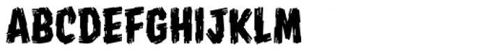 Shrunken Head BB Font LOWERCASE
