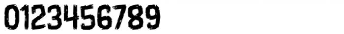 Shrunken Head Light BB Font OTHER CHARS