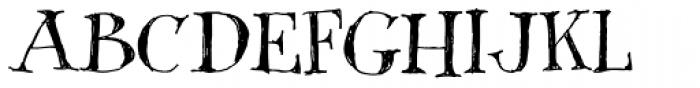 Shuffle Steps Font UPPERCASE