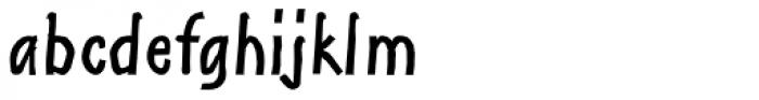 Shuma Bold Font LOWERCASE