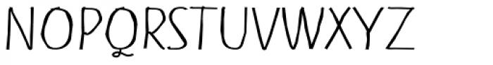 Shuma Light Font UPPERCASE