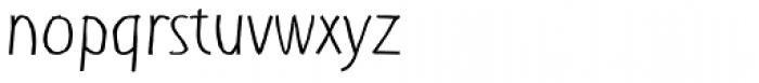Shuma Light Font LOWERCASE