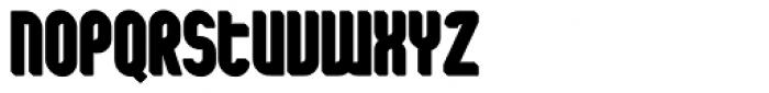 Shuttle 3D Shadow Font UPPERCASE