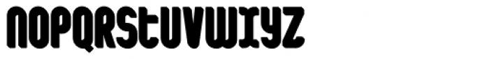 Shuttle 3D Shadow Font LOWERCASE