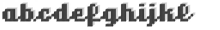 sh klicker Trude Font LOWERCASE
