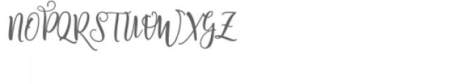 Shanghai Script Alternates Font UPPERCASE