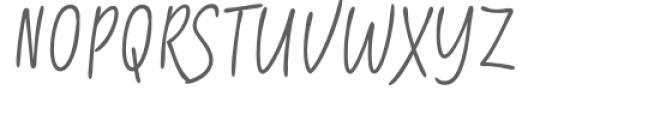 Shartoll Light Font UPPERCASE
