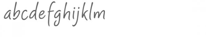 Shartoll Light Font LOWERCASE