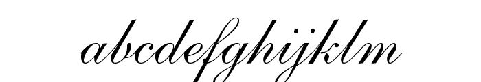 ShelleyLTStd-Script Font LOWERCASE