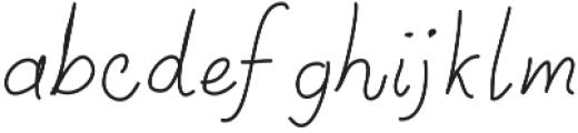 SIDFont15 ttf (400) Font LOWERCASE