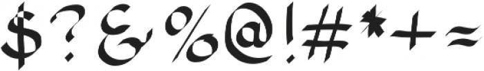SIDFont16 ttf (400) Font OTHER CHARS