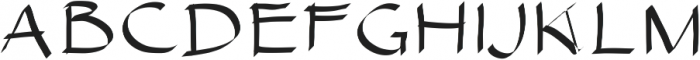 SIDFont16 ttf (400) Font UPPERCASE