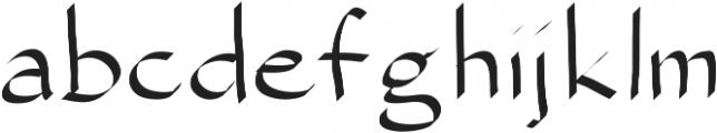 SIDFont16 ttf (400) Font LOWERCASE