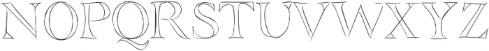 SIDFont17 ttf (400) Font UPPERCASE