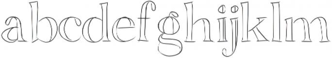 SIDFont17 ttf (400) Font LOWERCASE