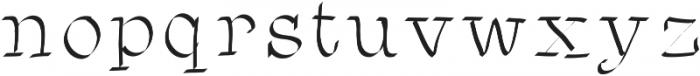 SIDFont2 ttf (400) Font LOWERCASE