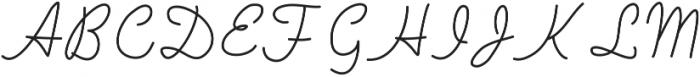 SIDFont22 ttf (400) Font UPPERCASE
