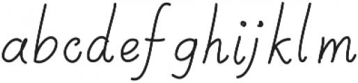 SIDFont22 ttf (400) Font LOWERCASE