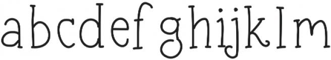 SIDFont24 ttf (400) Font LOWERCASE