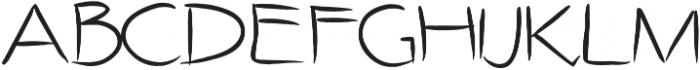 SIDFont9 ttf (400) Font UPPERCASE