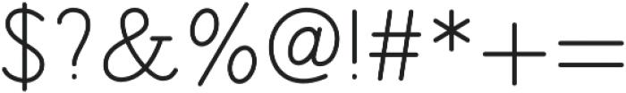SINTIX otf (400) Font OTHER CHARS