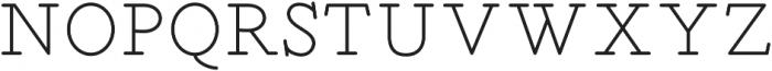 SINTIX otf (400) Font UPPERCASE