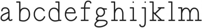 SINTIX otf (400) Font LOWERCASE