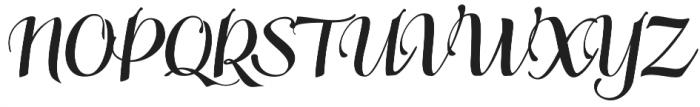 Siberius otf (400) Font UPPERCASE