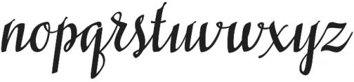 Siberius otf (400) Font LOWERCASE