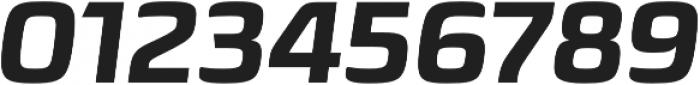 Sica ExtraBold Italic otf (700) Font OTHER CHARS