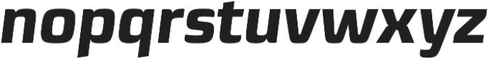 Sica ExtraBold Italic otf (700) Font LOWERCASE