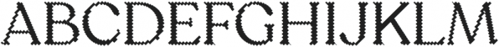 Sicilia Blocks otf (400) Font UPPERCASE