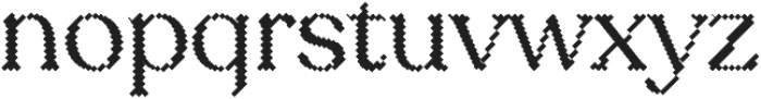 Sicilia Blocks otf (400) Font LOWERCASE