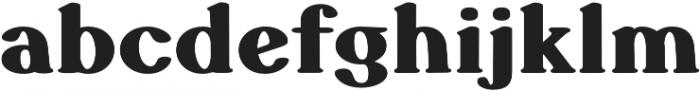Sicilia Grotesque otf (400) Font LOWERCASE