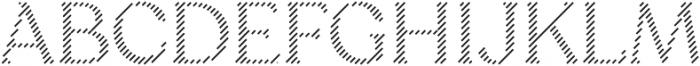 Sicilia Lines otf (400) Font UPPERCASE