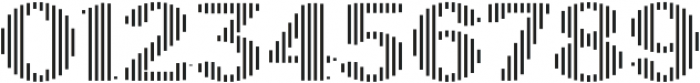 Sicilia Stripes ttf (400) Font OTHER CHARS